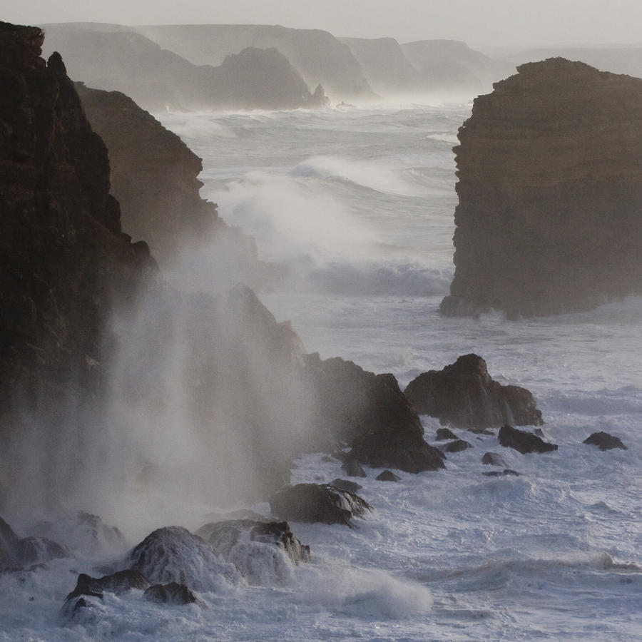 Costa Vicentina Storm by John McKinlay