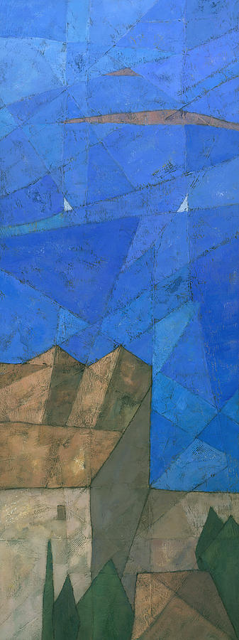 Abstract Painting - Cote D Azur I by Steve Mitchell