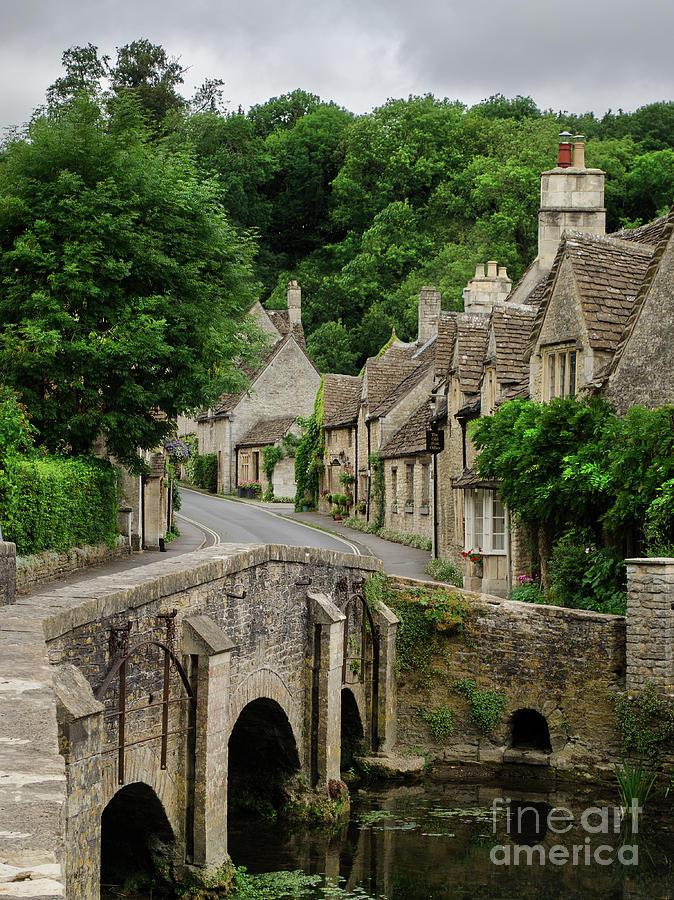 Cotswolds Photograph - Cotswolds Village Castle Combe by IPics Photography