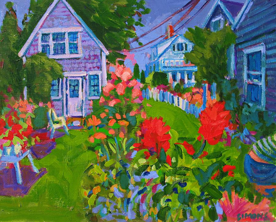 Paintings Painting - Cottage Country by Brian Simons