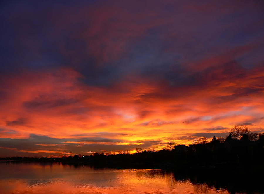 Cottage Country Sunrise Photograph by Thomas Lewis