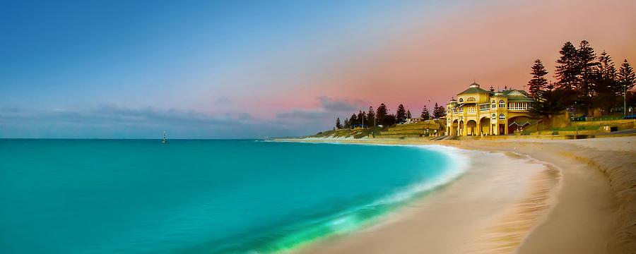 Landscape Photograph - Cottesloe Beach Sunset by Az Jackson