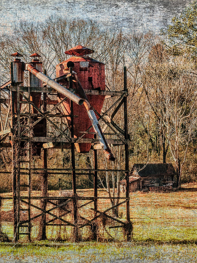 Cotton Gin In Vincent Alabama Photograph by Phillip Burrow