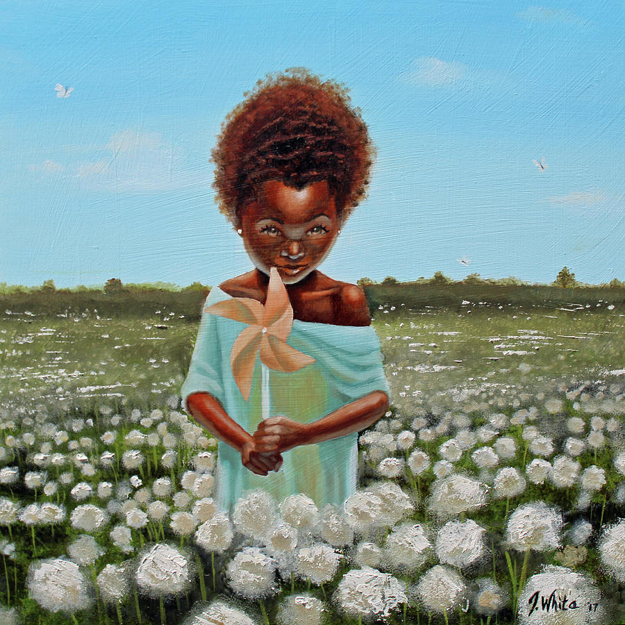 Cotton Painting - Cotton grass by Jerome White