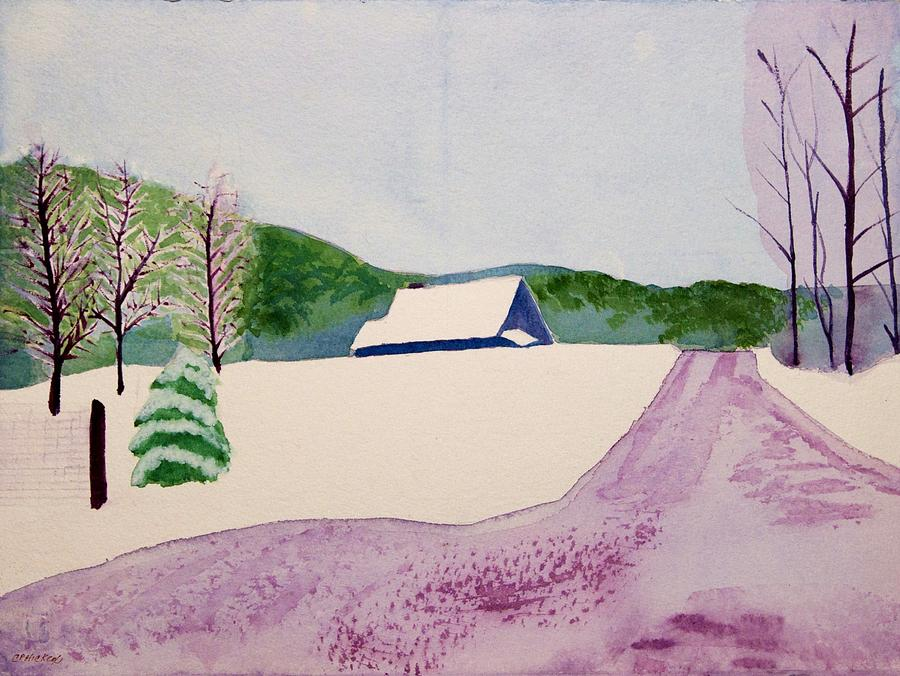 Massachusettes Painting - Couch Brook Farm by Charlotte Hickcox