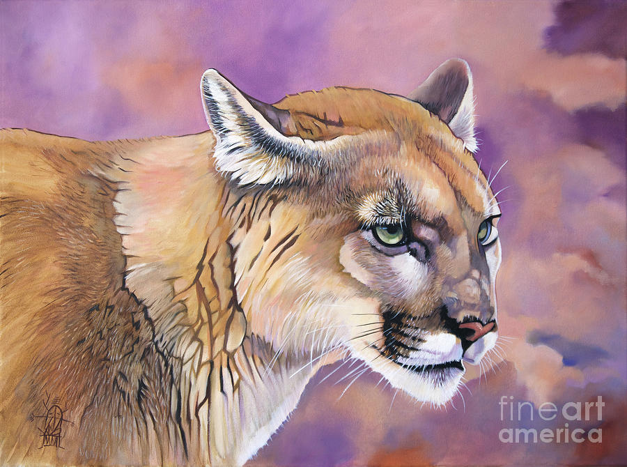 a930153de8f69 Cougar, Catamount, Mountain Lion, Puma by J W Baker