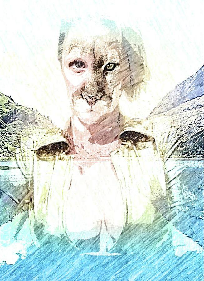 Cougar Digital Art - Cougar by Robert Hill