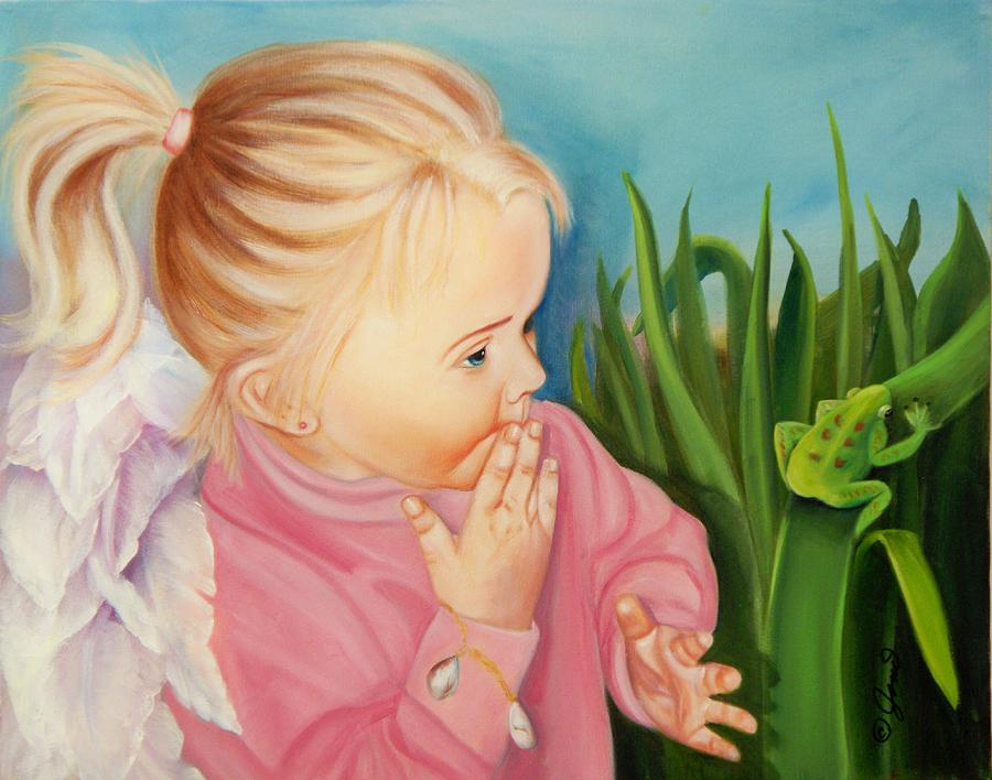 Angel Painting - Could This Be My Prince by Joni McPherson