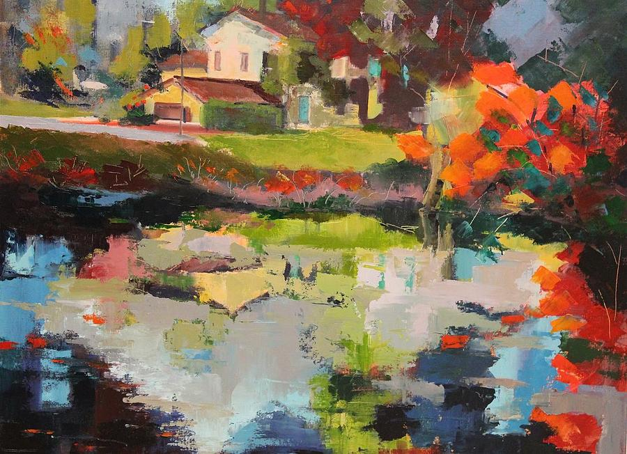 Coulon Town Painting