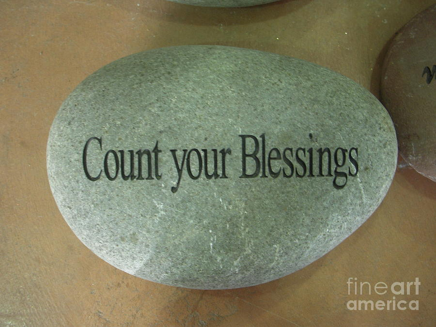 Count Your Blessings Photograph - Count Your Blessings by Deborah Finley