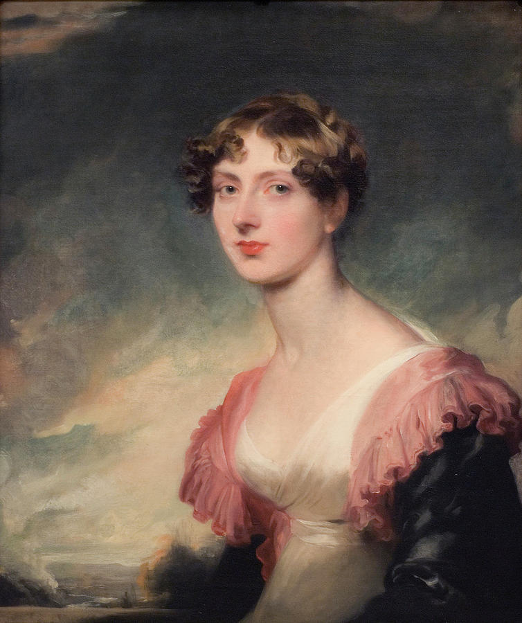 Woman Painting - Countess Of Plymouth By Sir Thomas Lawrence by MotionAge Designs