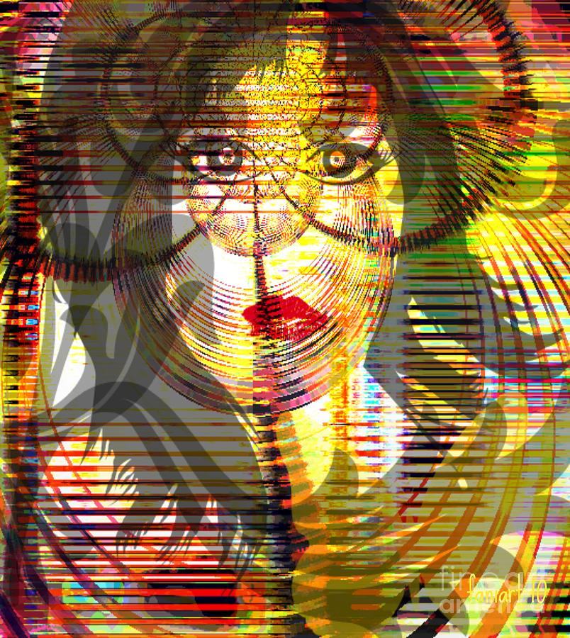 Faniart Mixed Media - Counting Her Blessings by Fania Simon