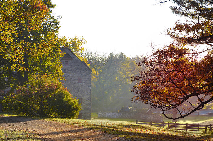 Country Photograph - Country Autumn by Bill Cannon
