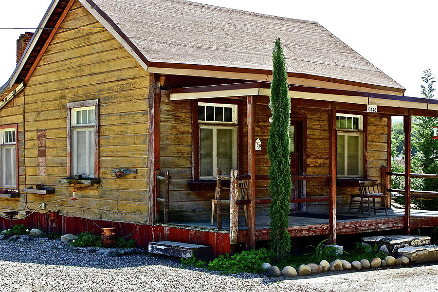 Country Cabin Photograph By Diana Hatcher