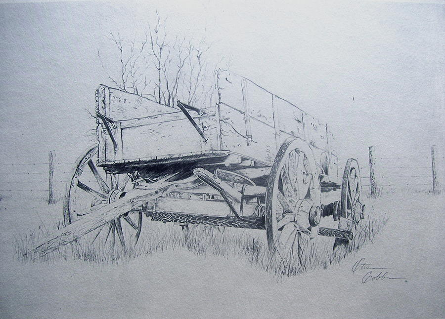 Country Car Drawing by Otis  Cobb
