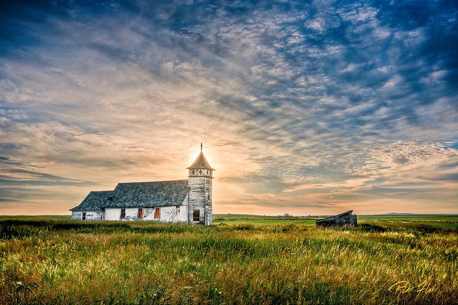 Country Church Sunrise Photograph By Rikk Flohr