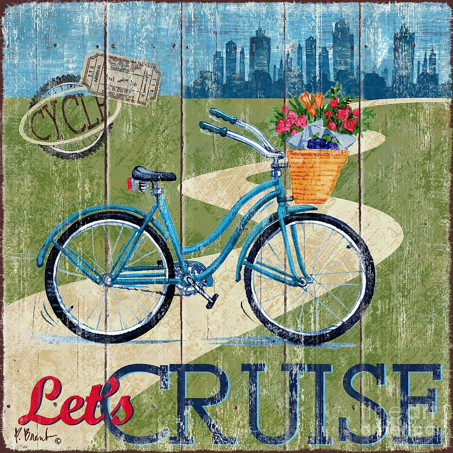 """Poster Print /""""Country Cruisers II/"""""""