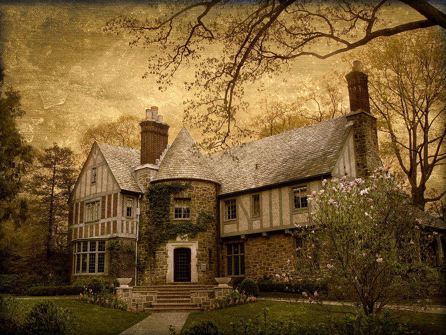 House Photograph - Country Estate by Jessica Jenney
