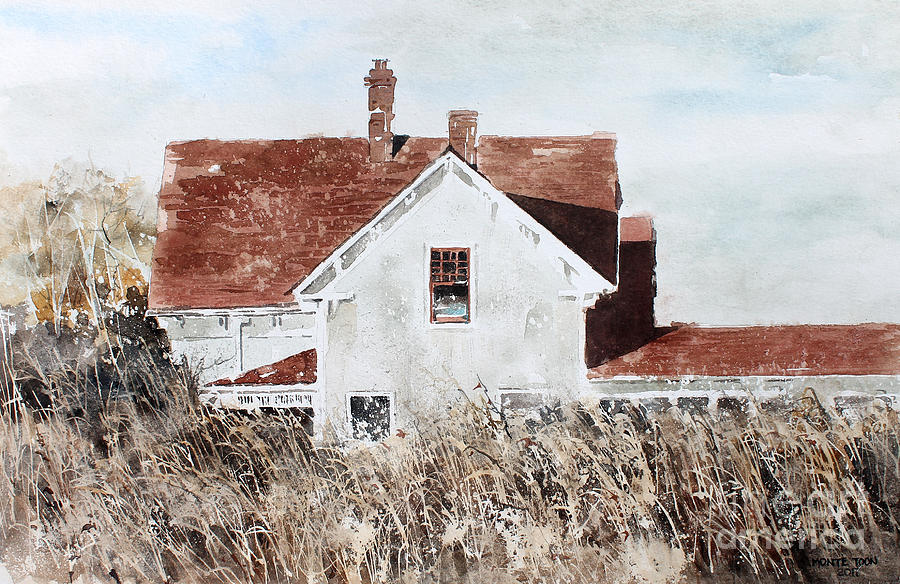 Country Home Painting by Monte Toon