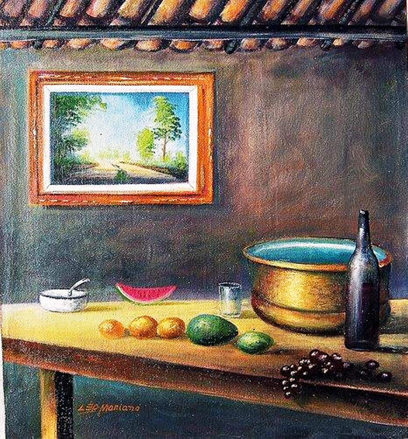 Country House Painting by Leomariano artist BRASIL