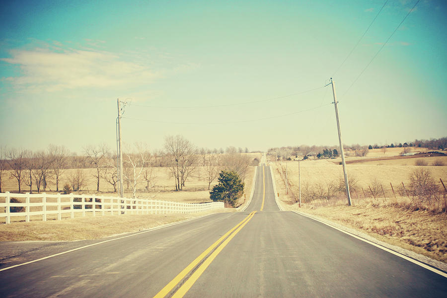 Country Photograph - Country Lanes by Allison Ruiz