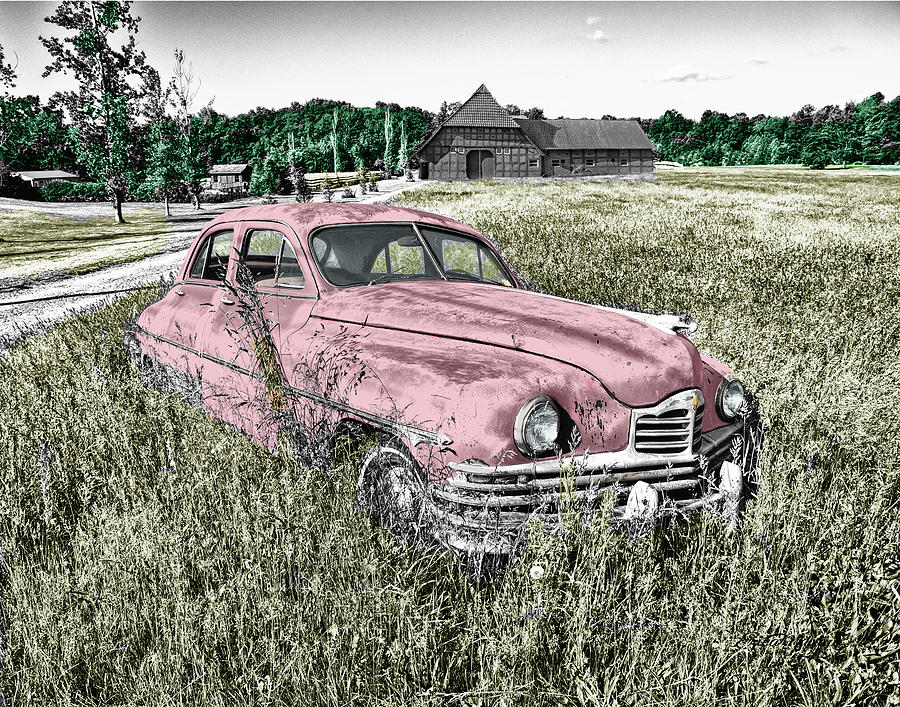 Car Photograph - Country Life by Ericamaxine Price