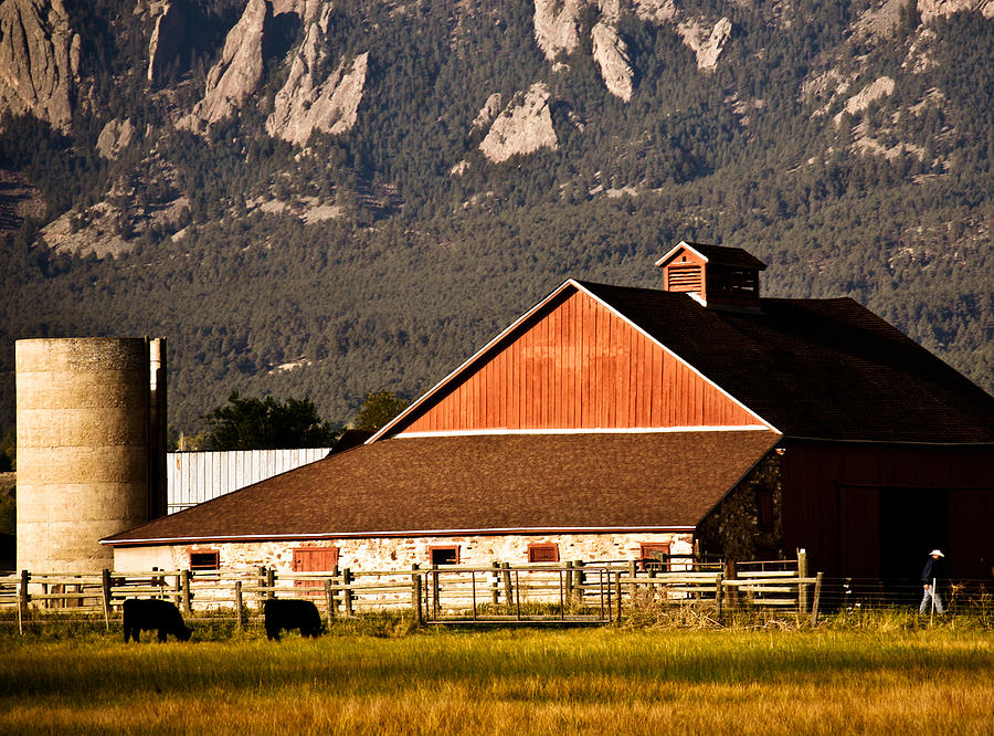 Country Living Boulder County Photograph