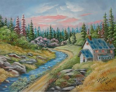 Landscape Painting - Country Living by Irene Clarke