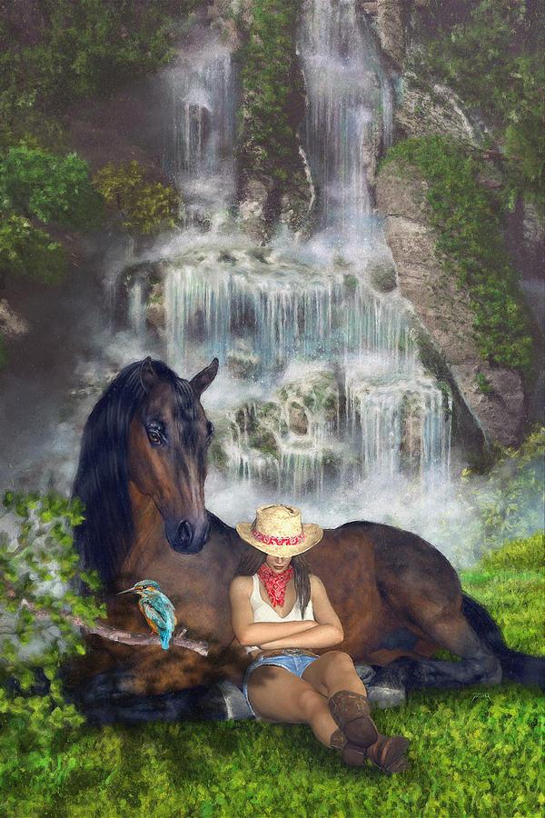 Country Memories 1 Digital Art