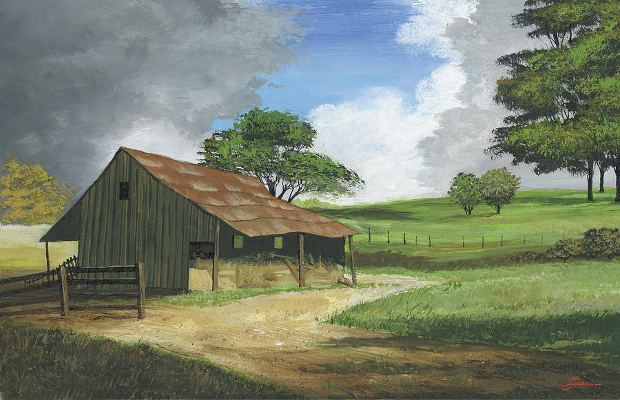 Country Memories Painting - Country Memories by Harold Shull