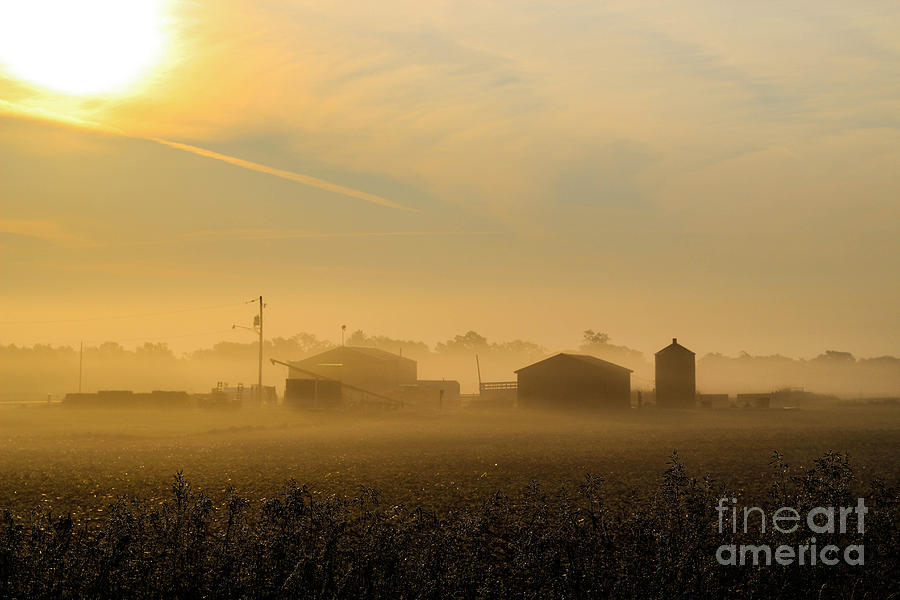 Farm Photograph - Country Mist by Doug Daniels