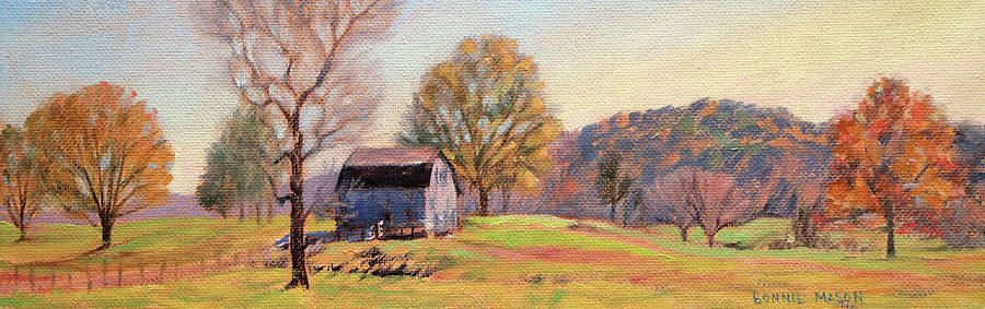Country Painting - Country Morning by Bonnie Mason