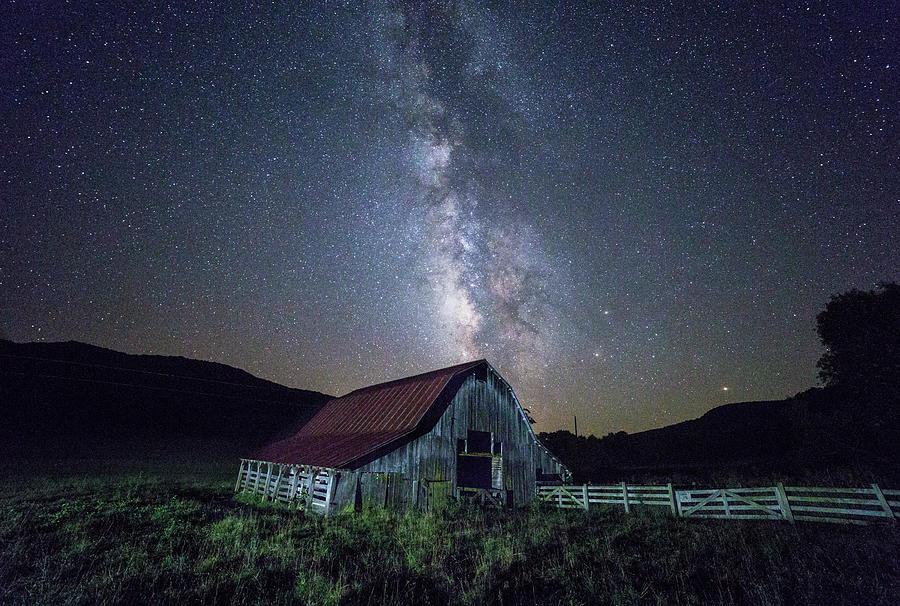 Country Night Sky 2 Photograph by Emil Davidzuk