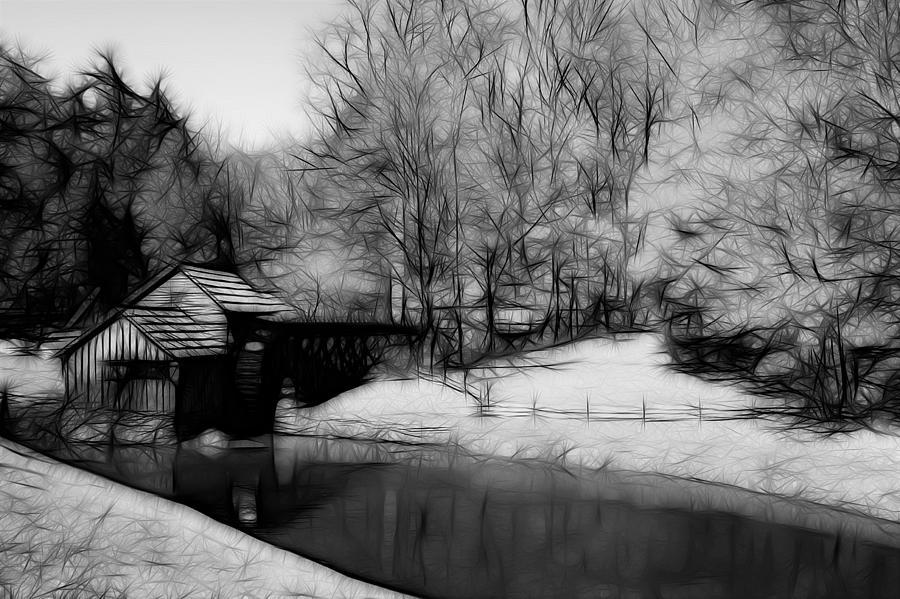 Mabry Mill Photograph - Mabry Mill by Ella Char