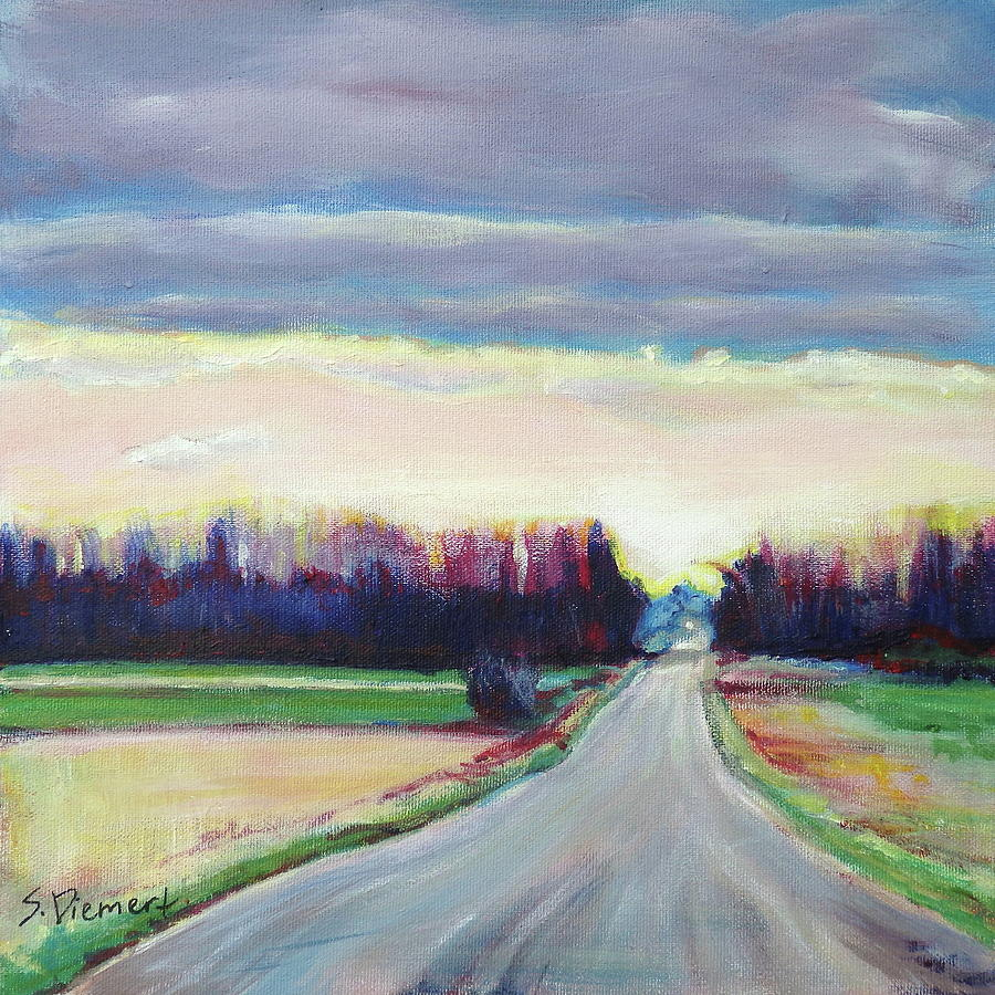 Country Road - 004 Of Celebrate Canada 150 Painting