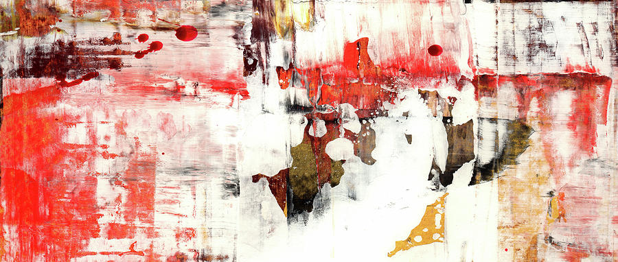 fa57a6cc01f Abstract Painting - Country Road - Contemporary Bright Abstract Art by  Modern Abstract