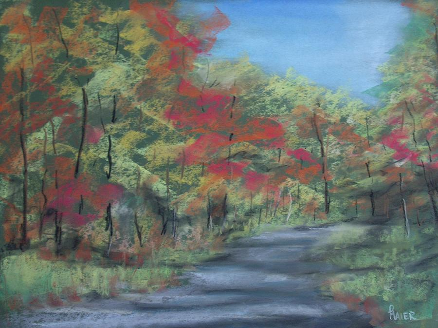 Landscape Painting - Country Road II by Pete Maier