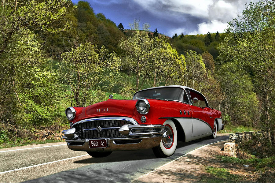 Buick Photograph - Country Road by Steven Agius