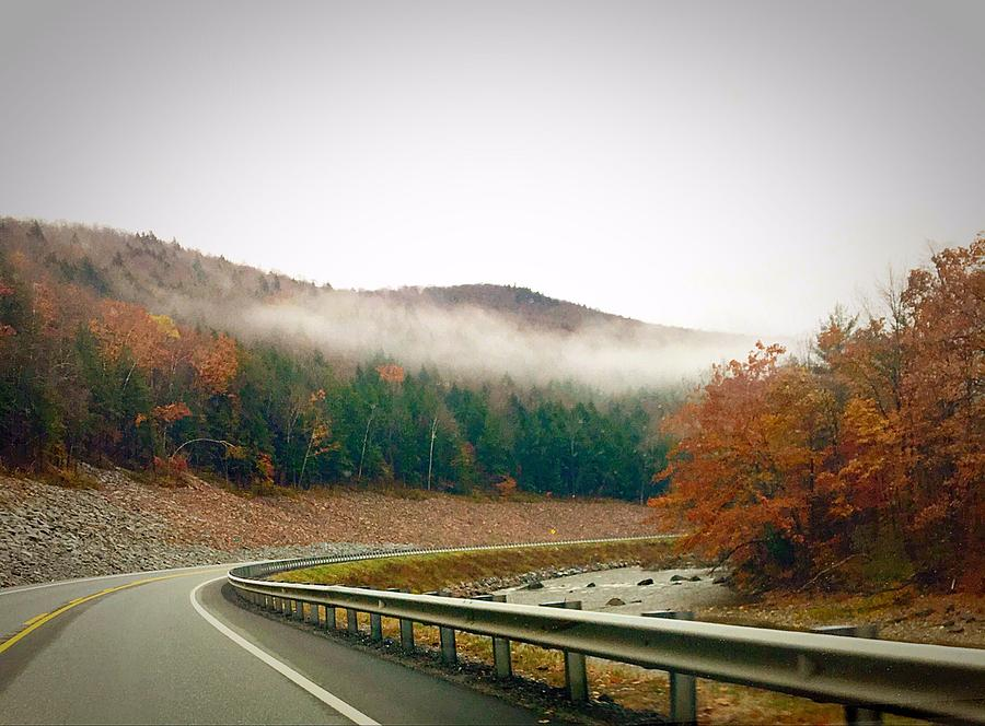 Highway Photograph - Country Road by Taneesha Ladd