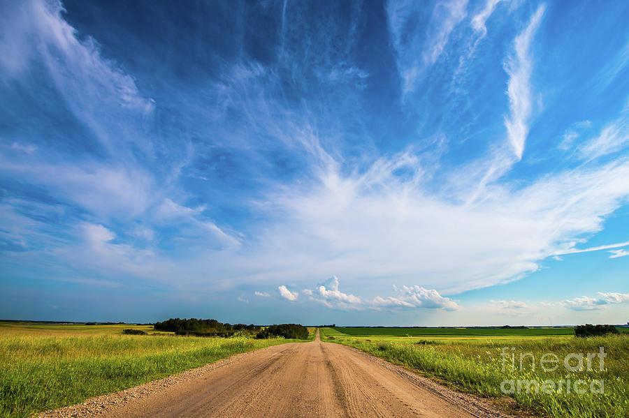Cloud Photograph - Country Roads IIi by Ian McGregor