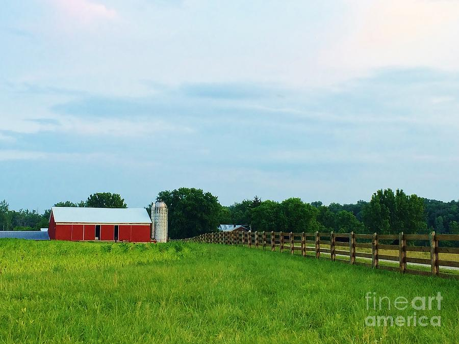 Summer Photograph - Country Scene by Ranchers Eye Photography