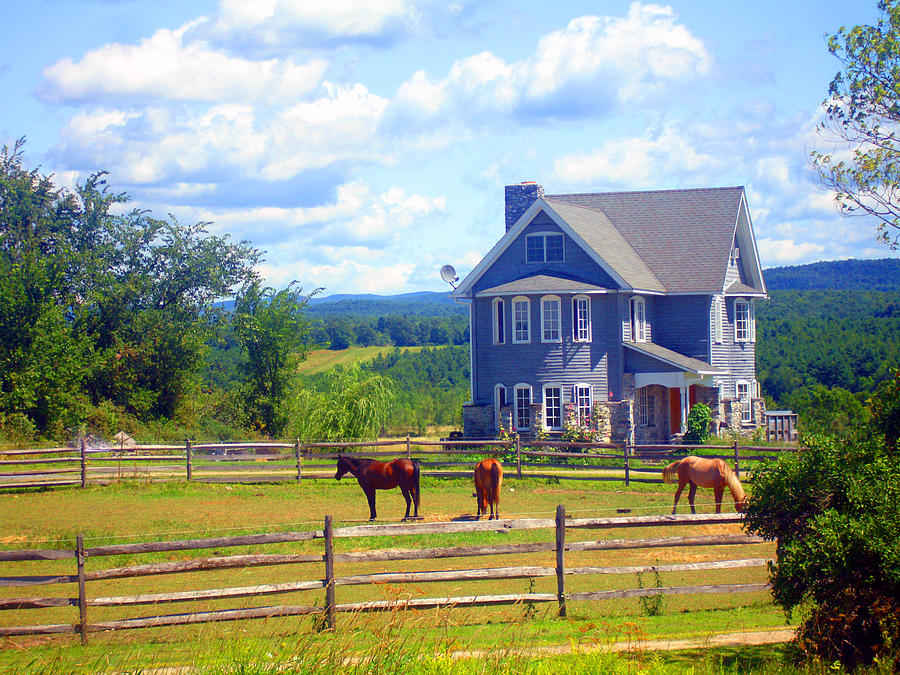 Vermont Photograph - Country Splendor by Ashley Porter