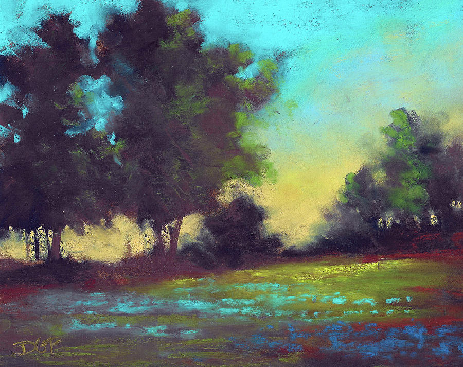 Country Painting - Country Twilight by David G Paul