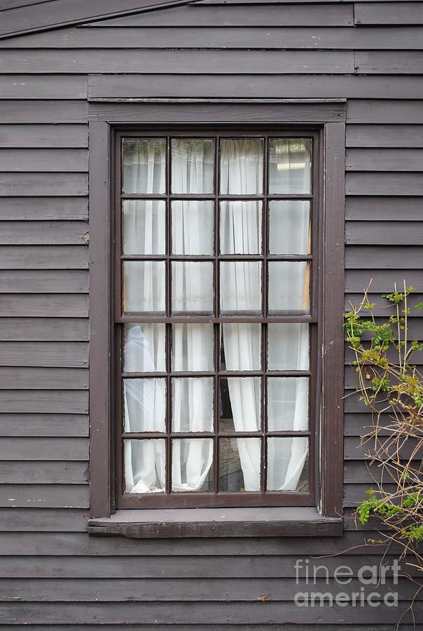 Window Photograph - Country Window by Jost Houk