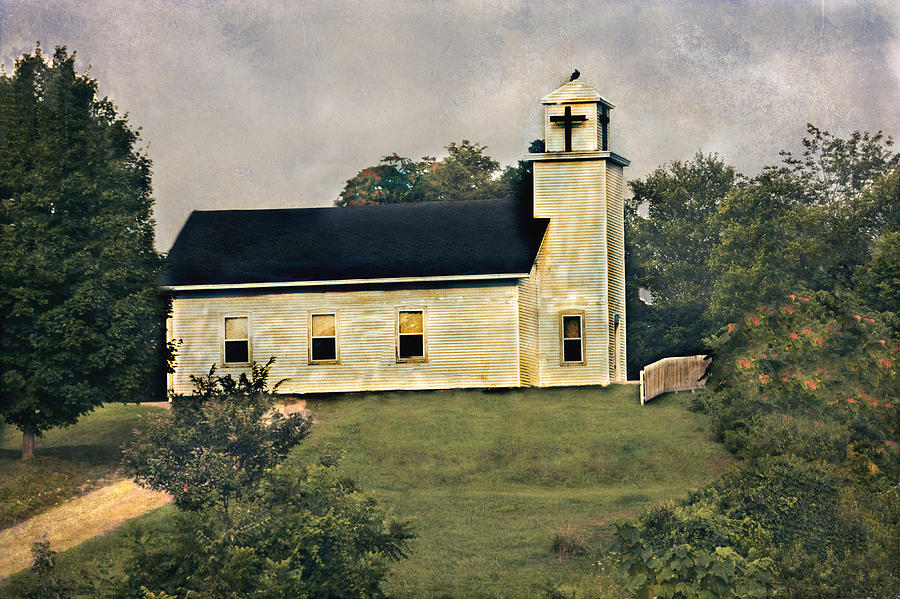 Country Church Photograph - County Chruch by David Yocum