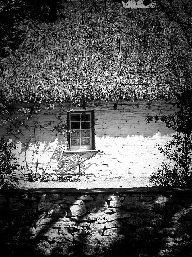 Irish Photograph - County Clare Cottage Ireland by Teresa Mucha
