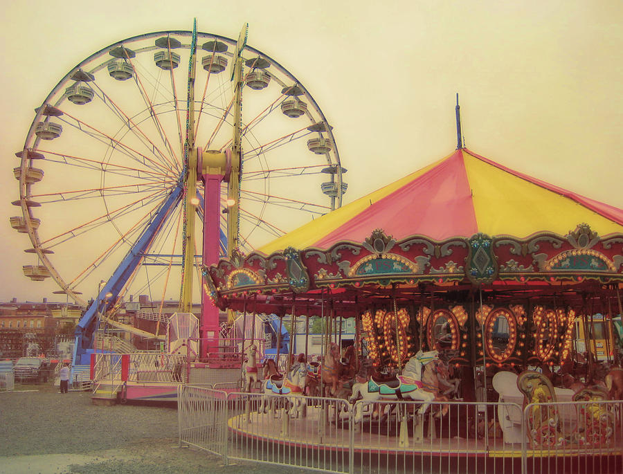 Carnival Photograph - County Fair by JAMART Photography
