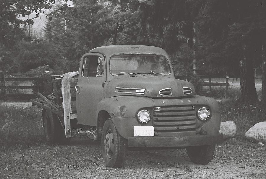 County Truck Photograph by John Danforth