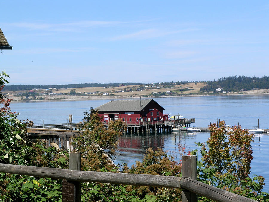 Coupeville Photograph - Coupeville Wharf II by Mary Gaines