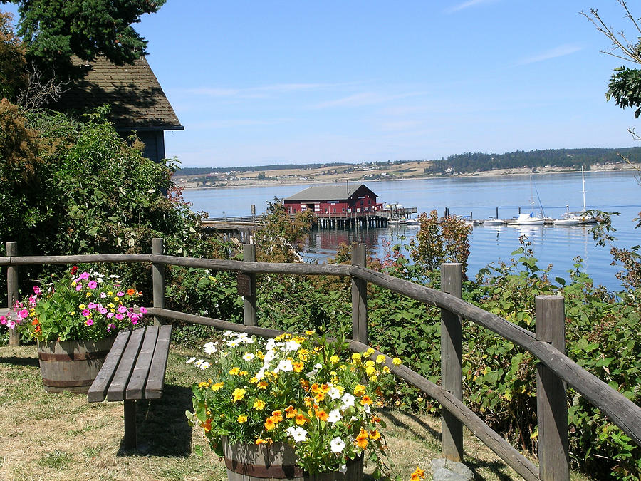 Coupeville Photograph - Coupeville Wharf by Mary Gaines